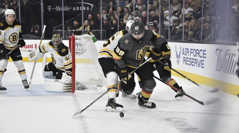 Bruins win seventh in row, top Golden Knights in shootout