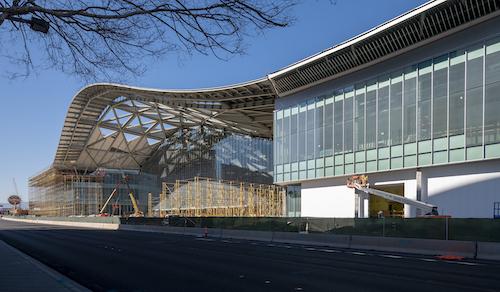 Concrete pour begins in new exhibit hall for Las Vegas Convention Center expansion