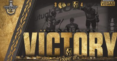 Reilly Smith leads Vegas to 2-0 series lead with OT goal